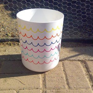Rainbow 🌈 🌊Wave Wastebasket